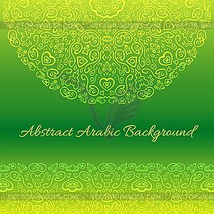 Abstrakt Hintergrund Arabisch - Vektor-Clipart EPS