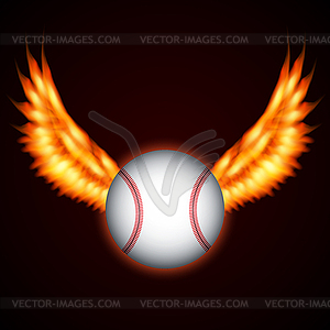 Baseball Ball - Vector-Illustration