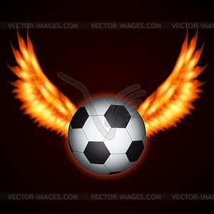 Fußball-Ball - vektorisiertes Clipart