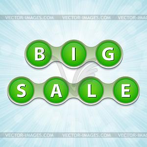 Big Verkauf Tag - Vektor-Clipart EPS