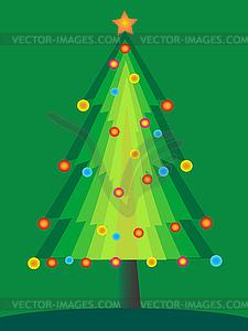 Set über Weihnachten Gedanken Weihnachten Design - Vector-Illustration
