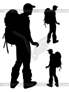 Outdoor-Aktivitäten Piktogramme Leute Mann Icon Anmelden - Vector-Clipart / Vektor-Bild