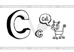 BCDEFGHIJKLMNOPQRSTUV WXYZ - vektorisiertes Clip-Art