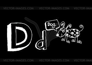 BCDEFGHIJKLMNOPQRSTUV WXYZ - Vektor-Illustration