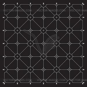 Grid für moderne virtuelle Technologie fantastisch - Vektorgrafik-Design