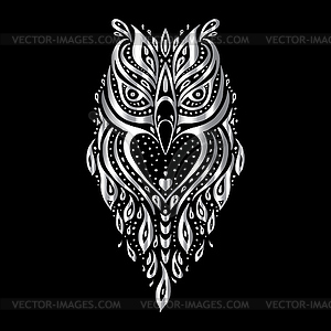 owl tribal muster clipart. Black Bedroom Furniture Sets. Home Design Ideas
