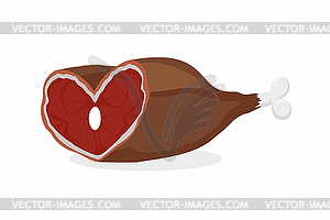 Pork ham with vegetable vectors objects food itmid 1007937883i items 10 07 93 78 83 livepreview jpg