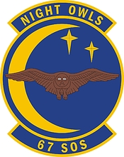 U.S. Air Force 67th Special Operations Squadron, emblem