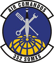 U.S. Air Force 352nd Special Operations Maintenance Squadron, emblem