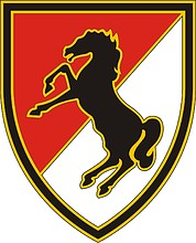 U.S. Army 11th Armored Cavalry Regiment, combat service identification badge
