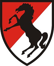 U.S. Army 11th Armored Cavalry Regiment, shoulder sleeve insignia