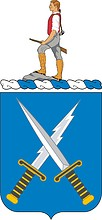 U.S. Army 301st Military Intelligence Battalion, coat of arms