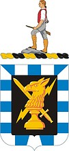 U.S. Army 542nd Military Intelligence Battalion, coat of arms