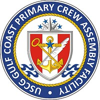 U.S. Coast Guard Gulf Coast Primary Crew Assembly Facility, emblem