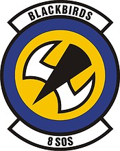 U.S. Air Force 8th Special Operations Squadron, emblem
