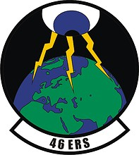 U.S. Air Force 46th Expeditionary Reconnaissance Squadron, emblem