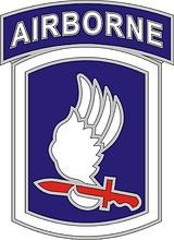 U.S. Army 173rd Airborne Brigade Combat Team, combat service identification badge