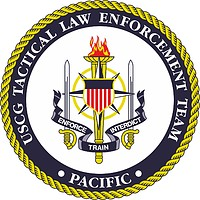 U.S. Coast Guard Tactical Law Enforcement Team (TACLET) Pacific, emblem