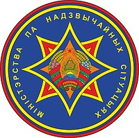 Belarus Ministry of Emergency Situations Central Staff, sleeve insignia