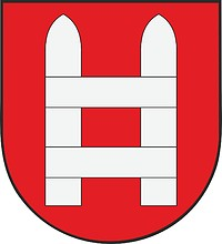 Vector clipart: Heinola (former municipality in Finland), coat of arms