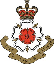 British Army King`s Division, badge
