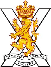 British Army Royal Regiment of Scotland, badge